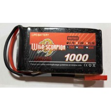Wild Scorpion Nano tech 1000mah3.7v 25C