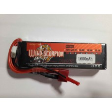 Wild Scorpion Nano tech1600mah 11.1v 25C