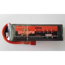 wild scorpion Nano Tech1800 mah 11.1v25c
