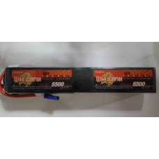 Wild Scorpion Nano tech5500mah 44.4v 45C