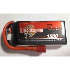 Wild Scorpion Nano tech1500mah 7.4v 25C