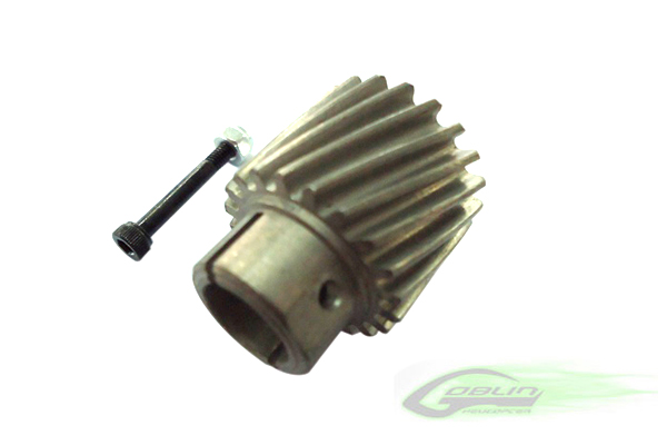 H0156-S – Steel Pinion Z19 – Goblin 770/630/700 Competition