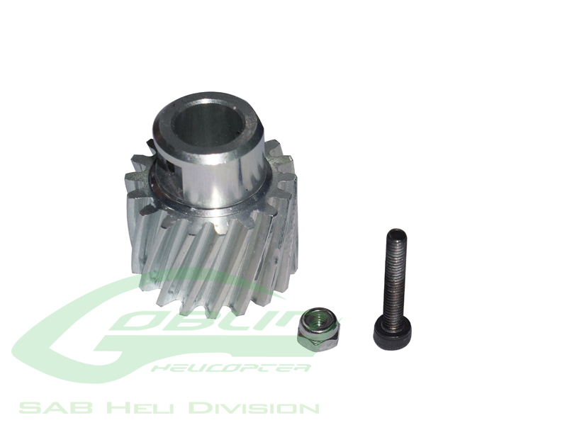 H0210-S – Aluminum Pinion Z18 – Goblin 500