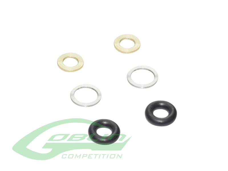 H0330-S – Spacer Set For Tail Rotor – Goblin 630/700 Competition