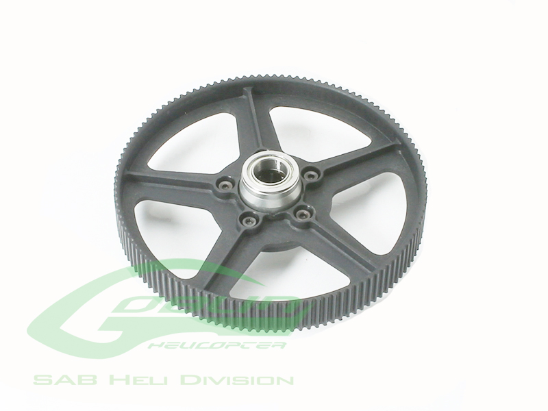 H0502-S – Platic Main Pulley – Goblin 380