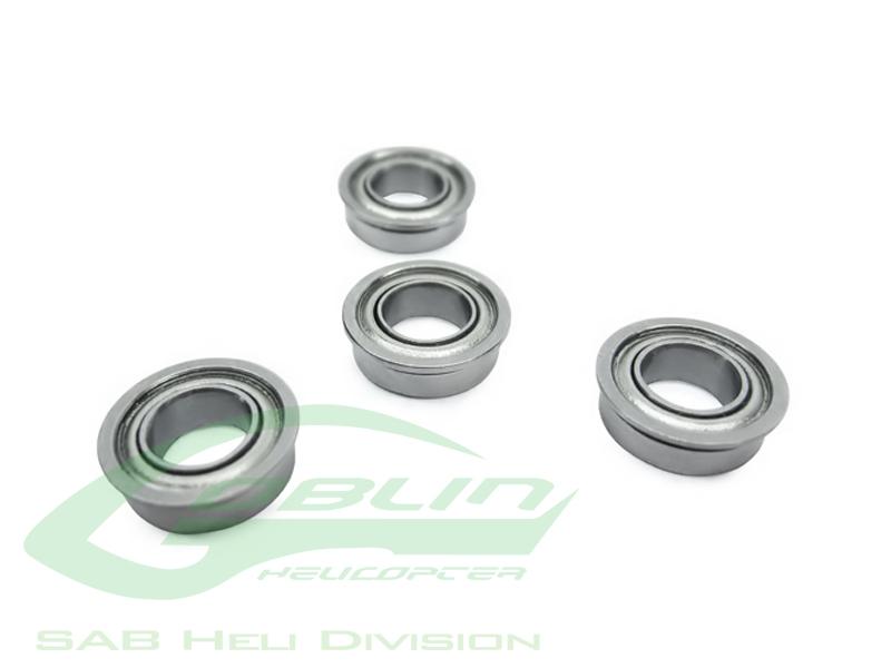 HC400-S – ABEC-5 Flanged bearing Ø2,5 x Ø6 x 2,6(4pcs) – Goblin 500/570/770/ HPS 630/700