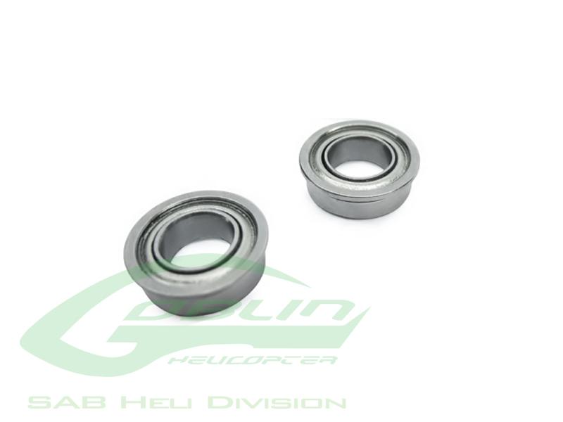 HC418-S – ABEC-5 Flanged bearing Ø8 x Ø12 x 3,5