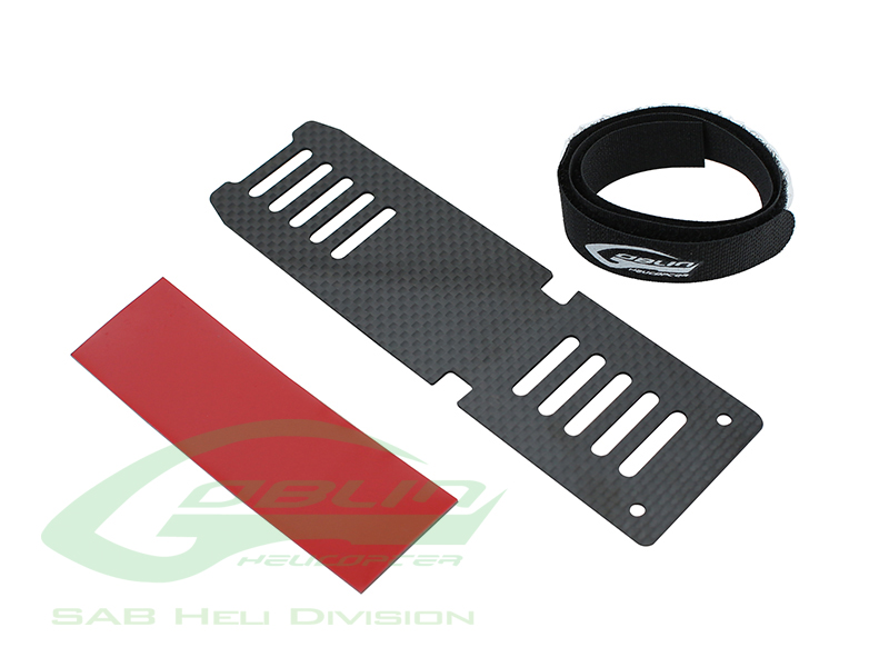 H0536-S – Carbon Fiber Battery Tray – Goblin 380
