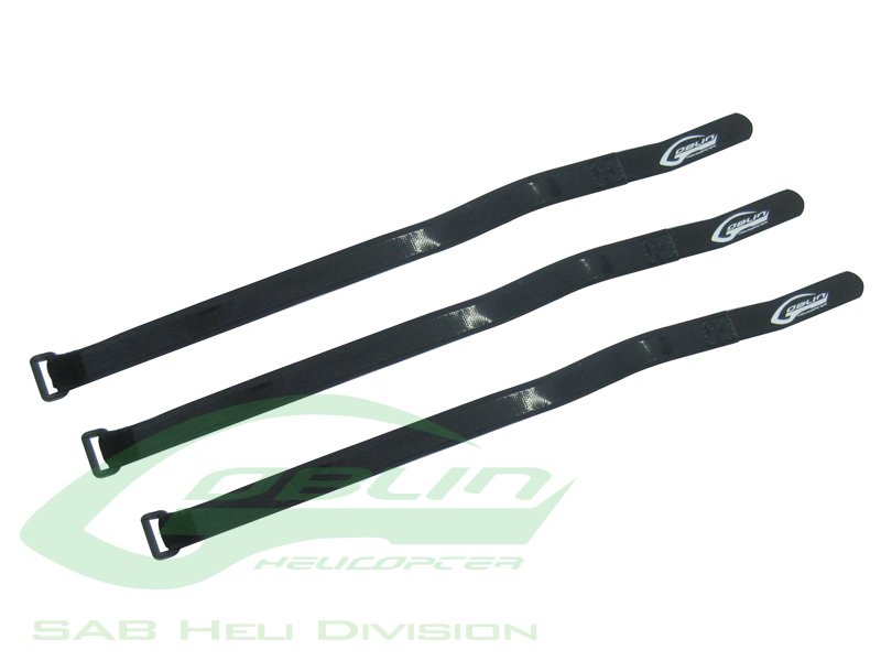 HA023-S – Battery Velcro Strap 440mm L 20mm W(3pcs) – Goblin 500/570