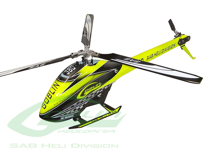 SG382 – SAB GOBLIN 380 KYLE STACY EDITION (With Main and Tail Blades)