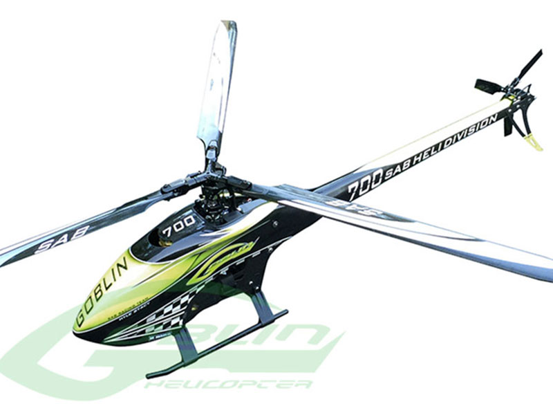 SG709 – SAB GOBLIN 700 KYLE STACY EDITION (With Main and Tail Blades)
