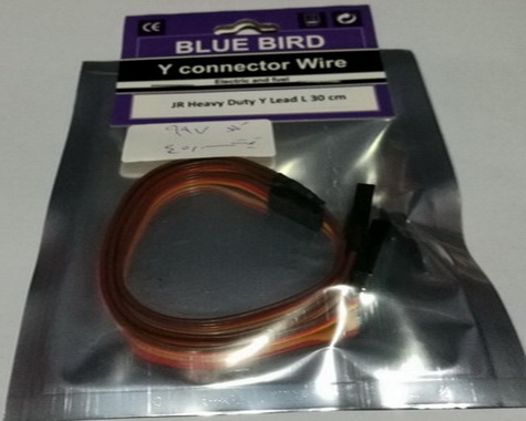 Blue bird Y Connector -30cm