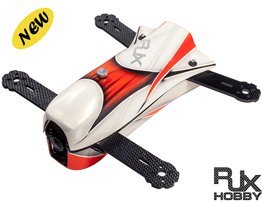 RJX 3D+ X- Speed FPV CAOS 250 Racing Drone Kit