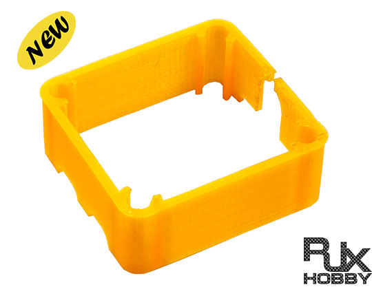 RJX 3D Print Electronic device frame orange