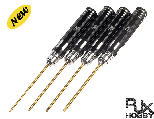 RJX Screw Driver Tool Kits ( 4pcs)1.5mm/2.0mm/2.5mm/3.0mm