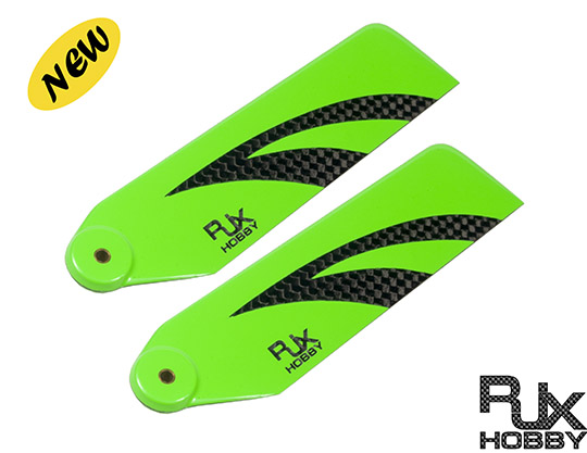 RJX Vector Green110mm Tail CF Blades
