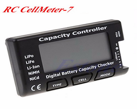 Cell Meter-7 Digital Battery Capacity Checker/Controller