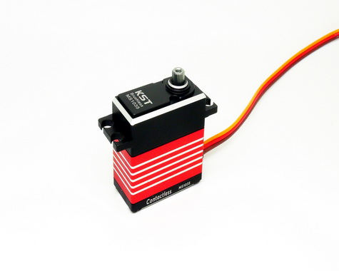 KST MS2208 Brushless HV Standard Cyclic Servo with Hall Effect (Contactless) Sensor