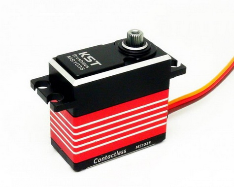 KST MS1035 Brushless HV Standard Tail Servo with Hall Effect (Contactless) Sensor