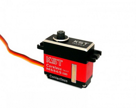 KST Mini Tail Servo MS565 with Hall Effect (Contactless) Sensor