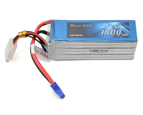 Gens Ace 6s LiPo Battery Pack 60C w/XT60 (22.2V/1800mAh)