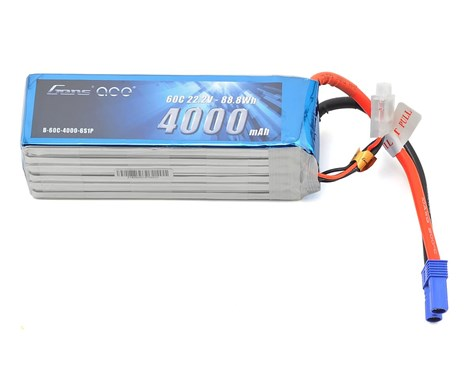Gens Ace 6s LiPo Battery Pack 60C w/XT90 (22.2V/4000mAh)