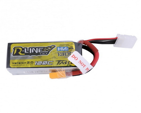 Tattu R-Line Version 2.0 1300mAh 100C 4S1P HV with XT60