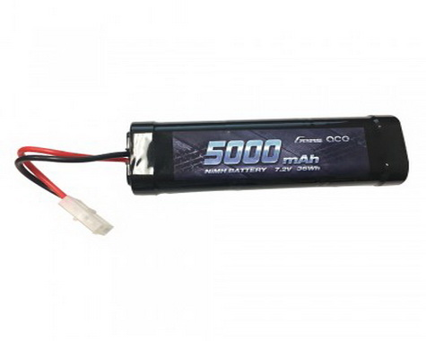 Gens Ace 5000mAh 7.2V Ni-MH Battery with Tamiya Plug