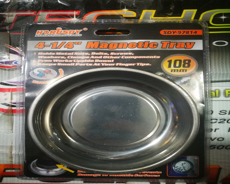 4-1/4″  Magnetic Tray