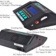 lipo-battery-balance-charger-ev-peak-c1-xr-ports