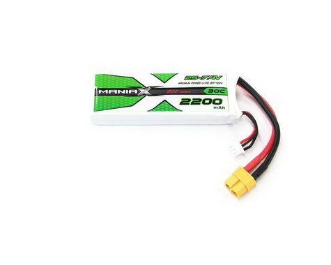 ManiaX Power LiPo 2S 7.4V 2200mAh 30C