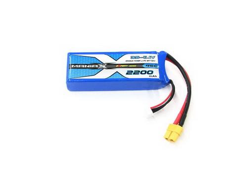 ManiaX LiPo 3S 2200mAh 11.1V 45C