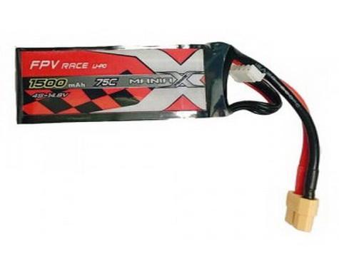 MANIAX POWER FPV race lipo 4S 1500mah 75C XT60