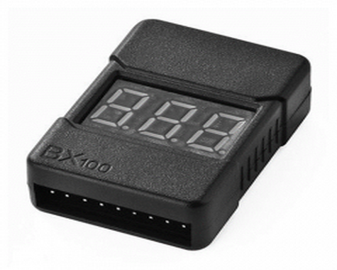 HotRc BX100 2-8S Low Voltage Alarm and Cell Checker