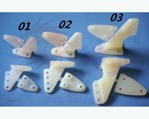 HY007-00501~03 Nylon Control Horns(10pis)