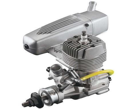 O.S. GT15 15cc Gas 2-Cycle Airplane Engine w/Muffler