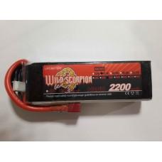 Wild Scorpion Nano tech2600mah 11.1v 35C
