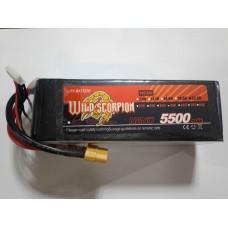 Wild Scorpion Nano tech5500mah 22.2v 45C