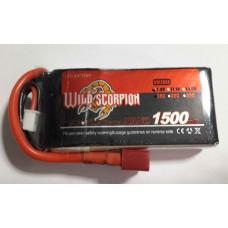 Wild Scorpion Nano tech1500mah 7.4v 25C