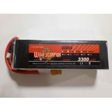 Wild Scorpion Nano tech3300mah 22.2v 35C
