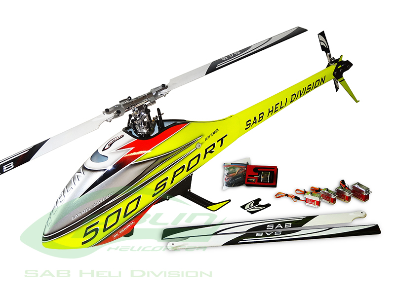 SG510 – Goblin 500 Sport Combo Yellow/Red