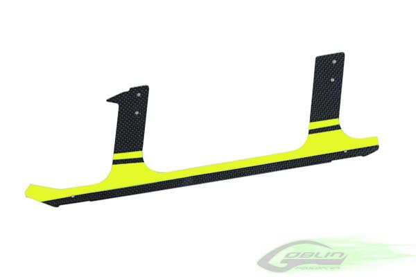 H0106-S – Low Profile Carbon Fiber landing gear – Goblin 630/700/770 – Yellow (1pc)