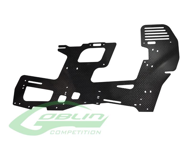 H0354-S – Carbon Fiber 2mm Main Frame (1pc) – Goblin 700 Competition