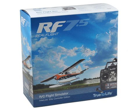 Great Planes RealFlight 7.5 w/Interlink Elite Controller (Mode 2)