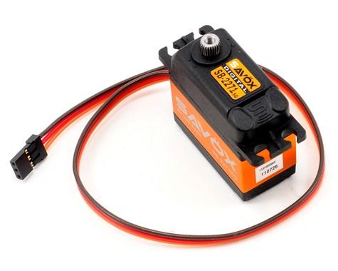 "Savox SB-2271SG ""High Speed"" Brushless Steel Gear Digital Servo (High Voltage)"