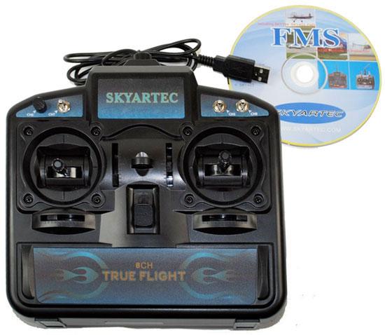 FMS Flight Simulator  8 ch