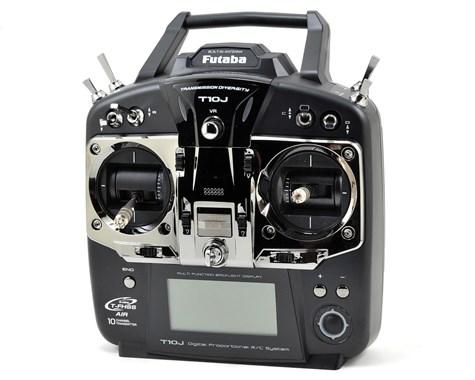 "Futaba 10J 2.4GHz S/FHSS ""Airplane"" Radio System w/R3008SB Receiver"