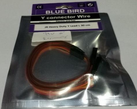 Blue bird Y Connector -30cm
