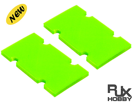 RJX FPV Racing Drone Battery Protection Platex2PCS Green