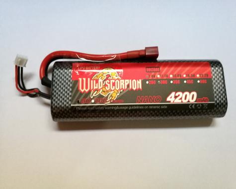 Wild Scorpion Nano tech4200mah 7.4v 30C-Car